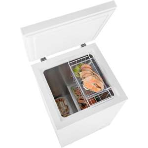 Fridgemaster MCF95 Chest Freezer - White £98.10 before  code (£88.10 after £10 cashback) @ao.com and FREE delivery.