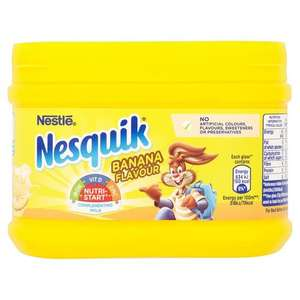 NESQUIK BANANA 300G OFFER £1 @ POUNDLAND