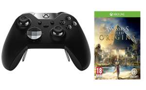 Xbox One Elite Wireless Controller + Assassins Creed Origins Xbox + Free £10 Voucher £109.99 Online / £99.99 In store @ Argos / £10 Cashback Bonus via Quidco