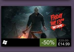 Friday 13th pc - £13.99 at  Steam