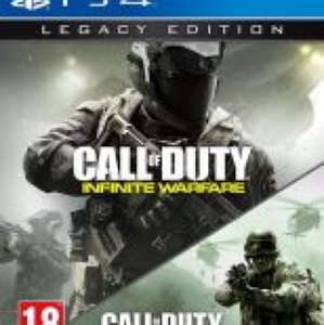 Infinite warfare and MWR Call of Duty at go2games for £23.99