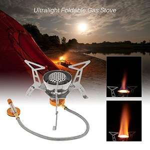 Lixada camping stove for £10.19 Sold by Monicater and Fulfilled by Amazon (Prime or £12.18 non-Prime)