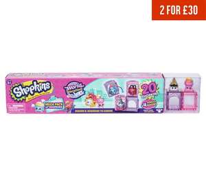 UPDATED 15/11 Shopkins Mega 20 Pack - Series 8 - was £19.99 (2 for £30) then £11.99 a week ago now £9.99 at Argos