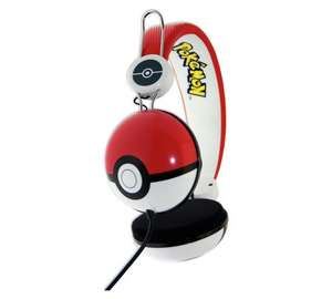 Pokemon Pokeball headphones (and others) £8.49 with code C+C @  Robert Dyas (can also C+C from Ryman stores)