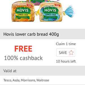 Free Hovis Bread at CheckoutSmart