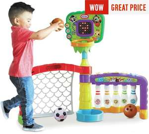 Little Tikes 3-in-1 Sports Activity Centre now £37.99 C+C @ Argos (their lowest price ever)