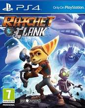 ex rental Ratchet and Clank PS4@boomerang