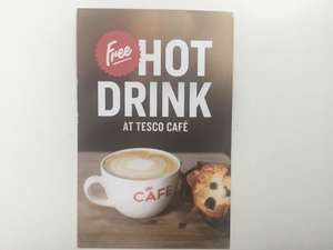 Free Hot Drink of your choice at Tesco Cafe until 5th November 2017