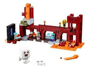 Lego 21122 Minecraft The Nether Fortress £43.59 delivered @ Amazon