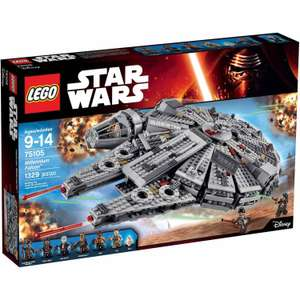 Lego 75105 Millenium Falcon - £88.99 on Amazon