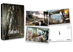 Fallout 4 PS4 STEELBOOK & Postcards at Game for £9.99