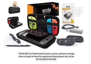Orzly Ultimate Pack for Nintendo Switch - £24.68 - Dispatched from and sold by Orzly