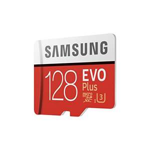 Samsung 128GB 95MB/s Memory Evo Plus Micro SD Card with Adapter - £46.91 - Sold and Fulfilled by Amazon