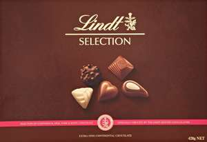 LINDT SELECTION 428G OFFER £10 @ ASDA