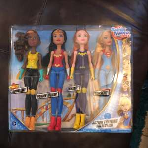 DC Superhero girls action training collection - Sainsburys for £24