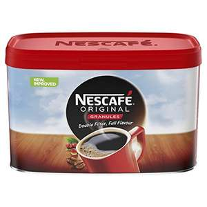 Nescafé Original Instant Coffee Granules, 500g at Amazon for £2.33 (Pantry/Prime Exclusive)