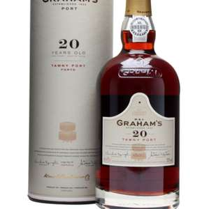 Graham's 20 yo Tawny Port 75cl £25.99 from Amazon