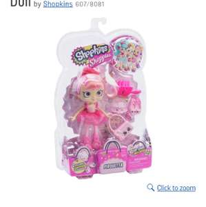 Shopkins Pirouetta Shoppies Doll Half Price - £7.99 @ Argos