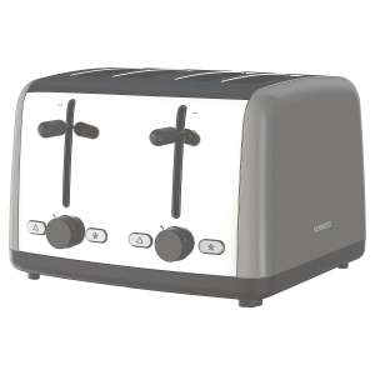 Kenwood Scene 4 Slice Toaster - 1800w Grey Half Price £20 @ Tesco Outlet Ebay