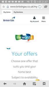 Free energy days every 6 months or once a year with p&g I also had option of free boiler service :-)