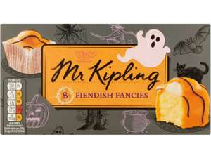 Mr. Kipling Fiendish Fancies 10p w/ SnapAndSave TCB  @  Iceland, Tesco