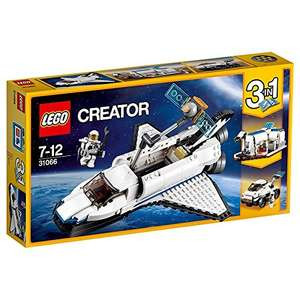 "LEGO UK 31066 ""Space Shuttle Explorer"" at Amazon for £16.71 (Prime or £18.70 non Prime)"