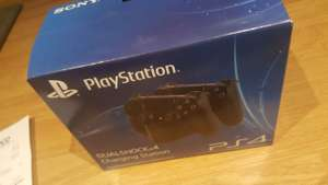 Dual shock 4 charging station had about 10 on the clearance shelf in my local tesco - £19.99
