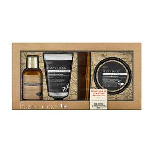 Baylis & Harding Fuzzy Duck Cedarwood Beard Grooming Kit at Fragrance Direct for £9.94 delivered