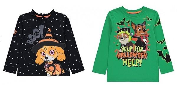 Paw Patrol Halloween Glow in the Dark T-shirts were £7 each now £3 - £3.50 C+C @ Asda (Pack 3 socks £2 )