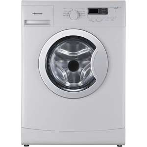 Hisense WFEA6010 6kg 1000rpm A++ SLIM DEPTH Freestanding Washing Machine - White at Appliances Direct for £164.97