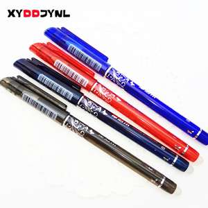 1 Pcs Erasable Gel Pen 0.5mm Nib Red Blue Dark Blue Black Refills Optional Student School Office Stationery @ ALIEXPRESS