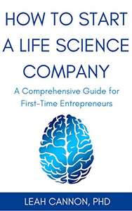 free ebook - how to start a life science company - free offer ends 29th october, 2017 at Amazon