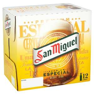San Miguel Premium Lager 12 x 330ml at B&M for £9.99