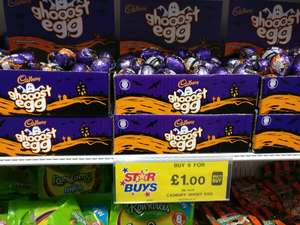 Home Bargains Instore Cadburys Ghooost eggs 6 for £1