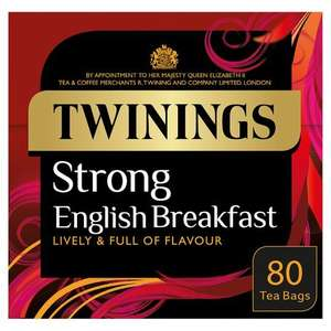 Twinings tea bags half-price at Tesco - Old kent road - £2.50