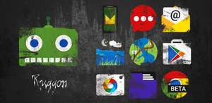 Ruggon icon pack - free @ Google play