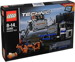 LEGO 42062 Container Yard Building Toy - £34.15 @ Amazon