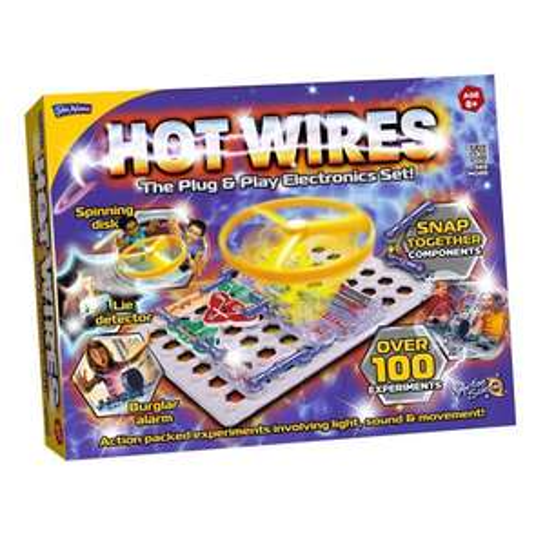 John Adams HOT WIRES Electronics Set 29.07 @ Amazon!