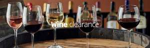 Wine Clearance - Prices from £4.99 & Free Delivery @ Aldi