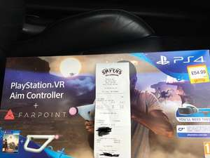 Farpoint psvr bundle with aim controller - £54.99 smyths instore -  Rayleigh
