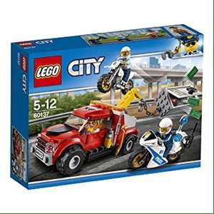 LEGO 60137 Lego City Tow Truck Trouble £10.17 from Amazon (Prime exclusive)