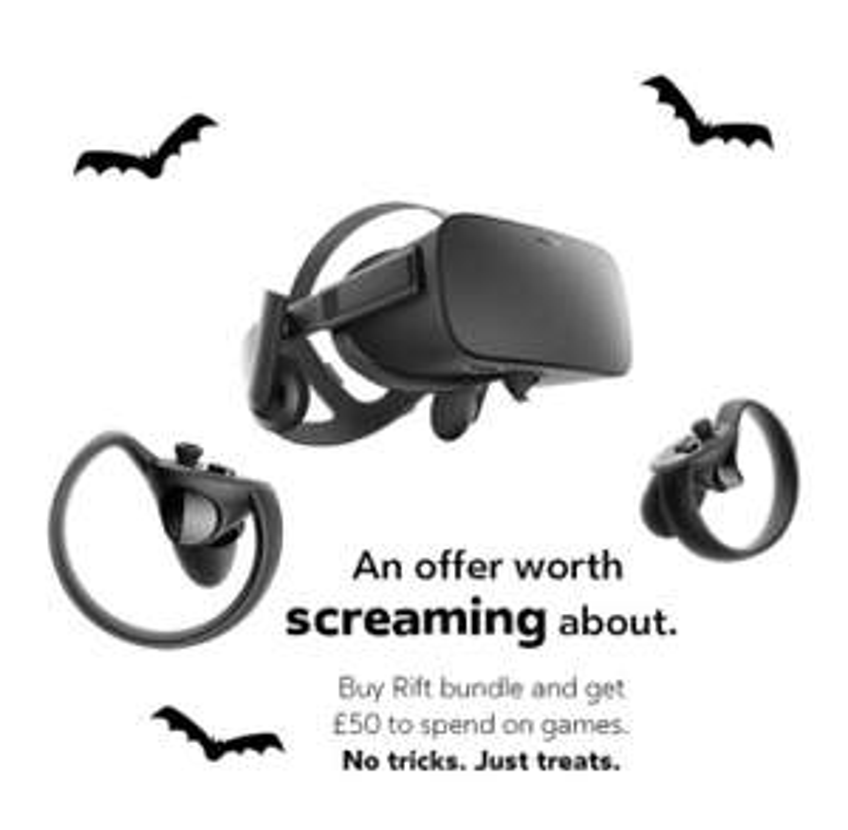 Oculus rift touch bundle + £50 oculus credit @ scan