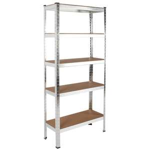 500kg Heavy Duty 5 Tier Shelving - £22.95 delivered @ eBay /  rtwdirectsales