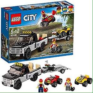 Lego 60148 Lego City ATV Race Team £10.90 from Amazon. Free delivery with Prime and free delivery with orders over £20 for non-prime.
