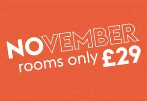 Hotel Rooms for 2 People in November from £29 (£14.50pp) @ Village Hotels (Book by 30th Oct PLUS some Dec dates eg Maidstone 24th Dec £29, Christmas Day 25th £35)
