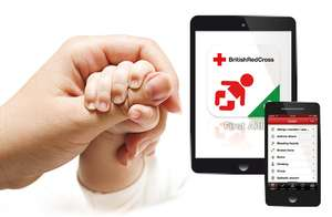 Free British Red Cross 'Baby & Child First Aid App' on Android and App Store