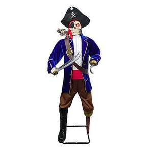 6 Ft Interactive Skeleton Pirate £30 from Asda was £60