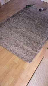 Modern Shaggy Rug 60 x 110cm in Choice of Colour £14.97 delivered @ Groupon