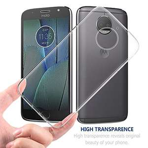Free USB-C Cable (priced 6.99) with Simpeak Soft Transparent Moto G5S Plus Protector Case £3.99 prime / £7.97 non prime Sold by Simpeak.U Store and Fulfilled by Amazon