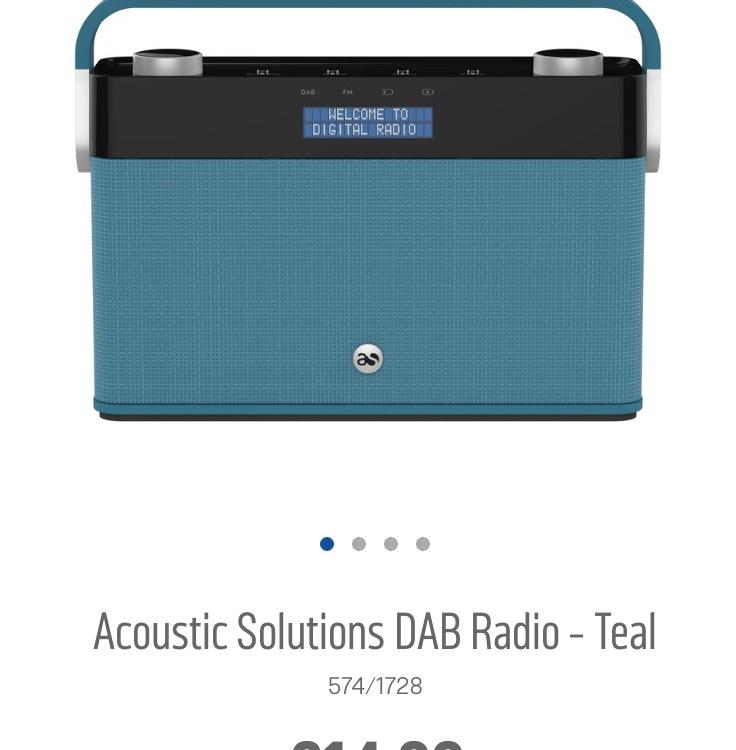 DAB Radio £14.99 @ Argos